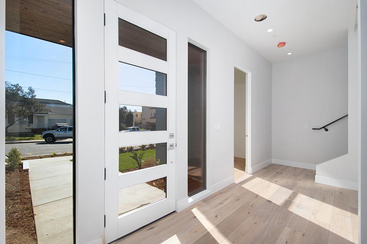 1734 La Playa Main Door