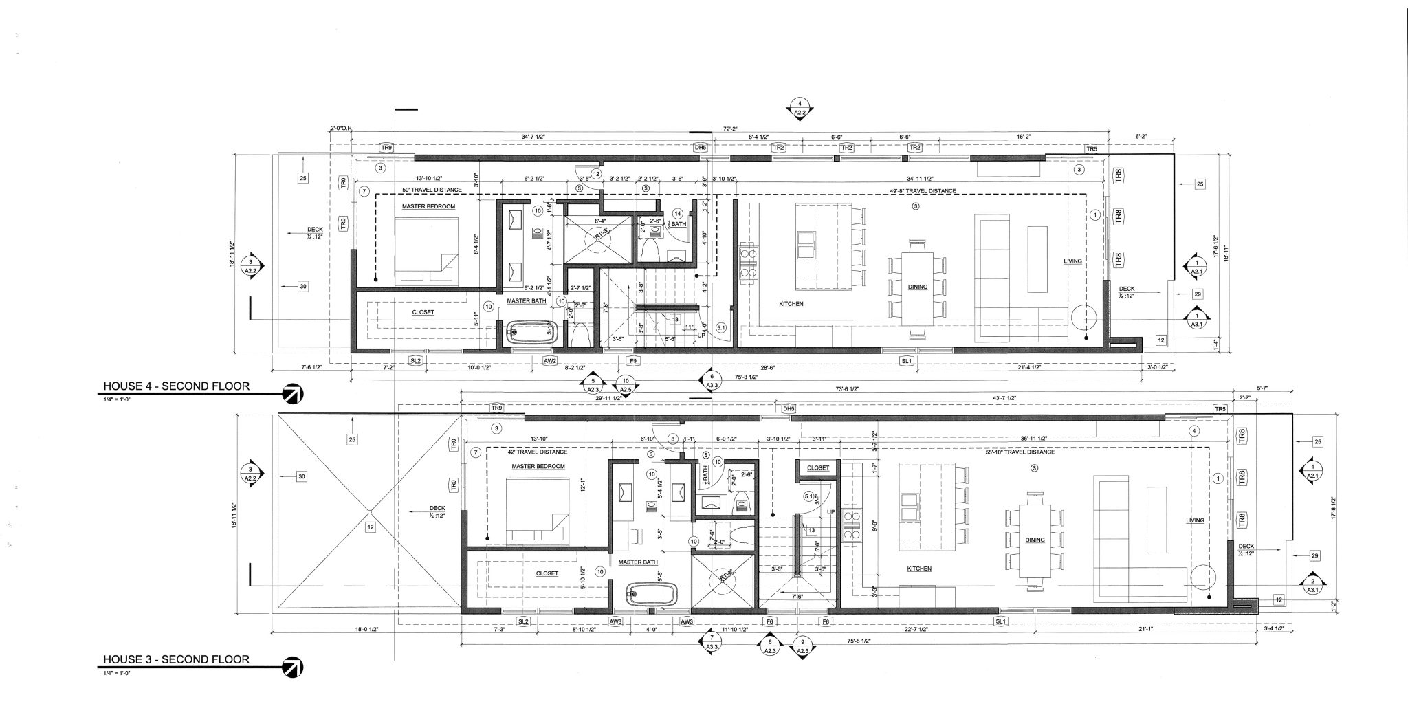 House 3 and 4 Second Floor