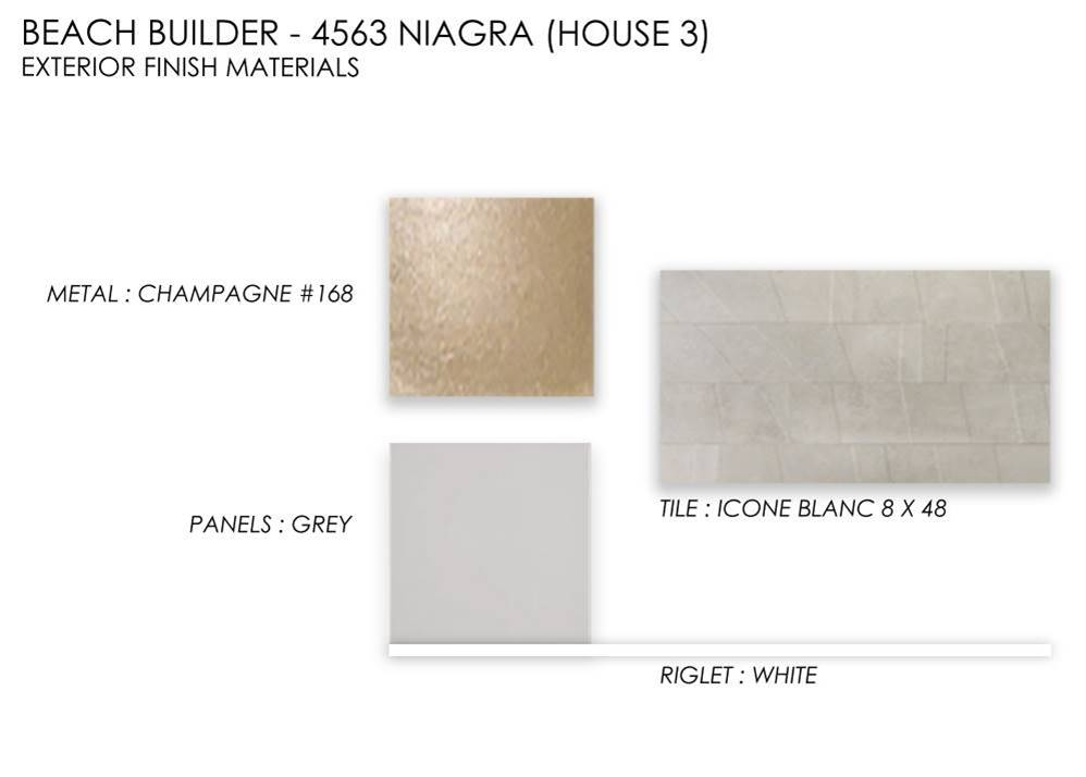 House 3 Exterior Finish Materials